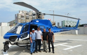 Inchiriere elicopter pentru filmare cu sistem profesional girostabilizat Cineflex