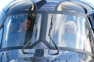 Lectie de zbor cu elicopterul