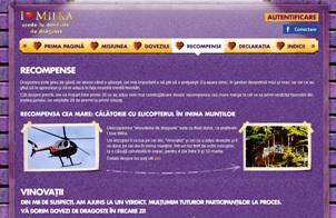 Premiu Zbor cu elicopterul Milca